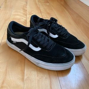 Vans Pro Gilbert Crockett Black suede shoes 7.5
